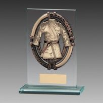 Maverick Legacy Martial Arts Glass Award