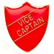 Red Shield Vice Captain Badge