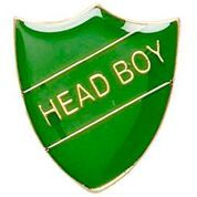 Green Head Boy Shield Badge