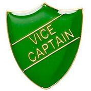 Green Shield Vice Captain Badge