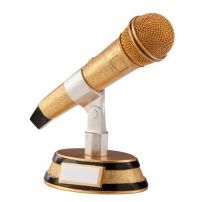 Karaoke King Microphone Award